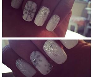 beautiful, christmas, and nails image