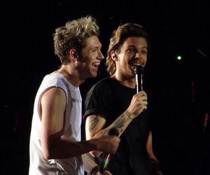 romance, niall horan, and nouis image