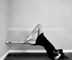 dance, ballet, and pressure image