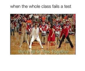 HSM, class, and friendship image