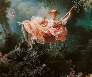 fragonard, twitter header, and rococo painting image