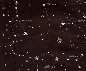 stars, constellation, and space image