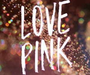 pink, background, and glitter image