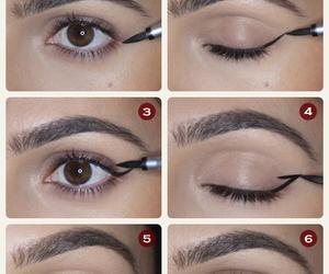 makeup, eyeliner, and tutorial image