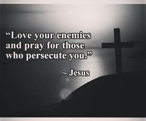 enemies, faith, and god image