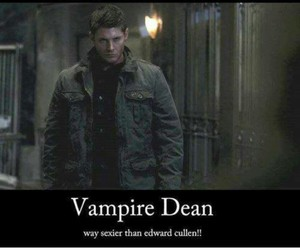 supernatural, vampire, and dean winchester image