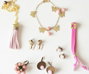 accessories, pink, and handmade image