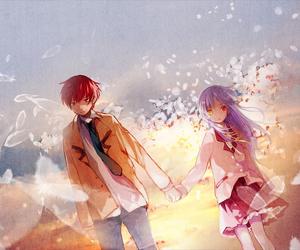 anime, angel beats, and otonashi image