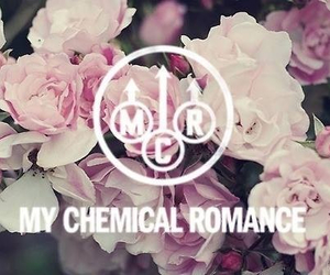mcr, flowers, and my chemical romance image