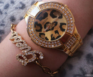 fashion, guess, and watch image