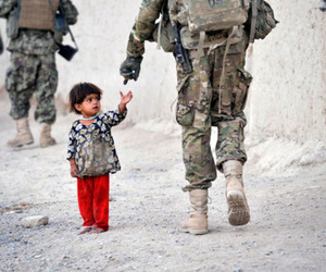 child, photography, and army image