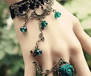 accesories, beautiful, and green image