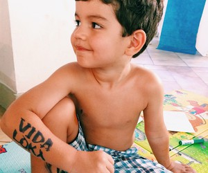 baby, tatoo, and vidaloka image