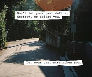 past, quote, and tumblr image
