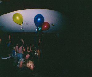 party, balloons, and photography image