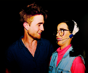 katy perry and robert pattinson image