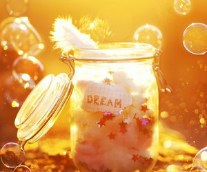 Dream and bubbles image