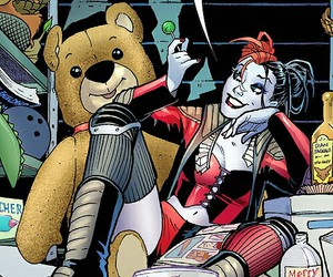 harley quinn and dc comics image