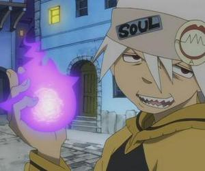 soul eater, anime, and soul eater evans image
