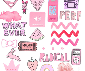 pink, overlay, and wallpaper image