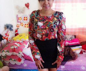 asian, hello kitty, and outfit image