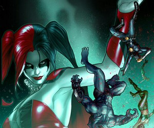 comics and suicide squad image