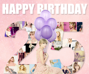 Taylor Swift and happy birthday image
