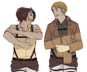 snk, hanji, and shingeki no kyojin image