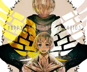 armin, snk, and aot image