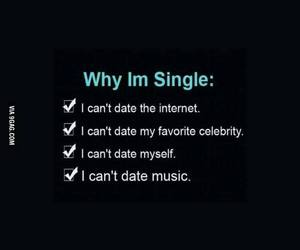 single, internet, and music image