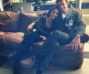 the mentalist, simon baker, and robin tunney image