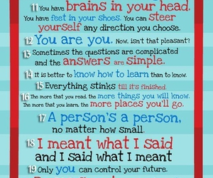 dr seuss, inspiration, and quotes image