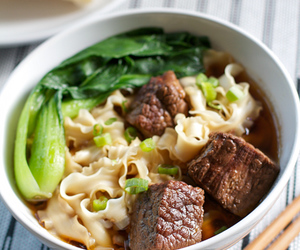 beef, noodles, and soup image