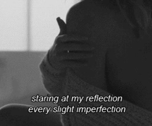 imperfection, sad, and quote image