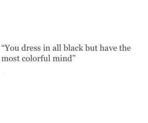 black, colorful, and mind image