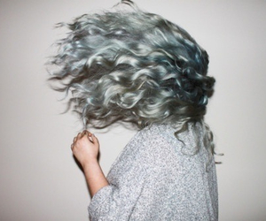hair, grunge, and girl image