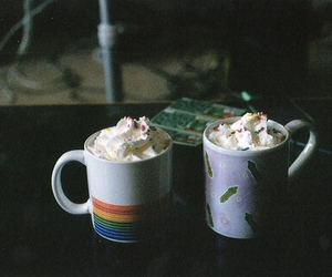 vintage, photography, and cup image