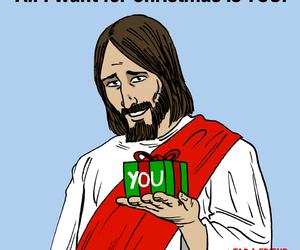 christmas, faith, and god image