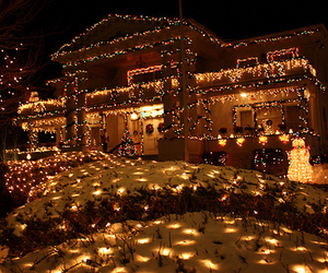 christmas lights, cute, and Dream image