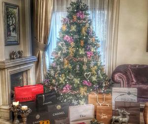 christmas, chanel, and luxury image