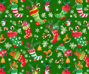 christmas, background, and green image
