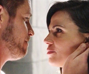 once upon a time, evil queen, and sean maguire image