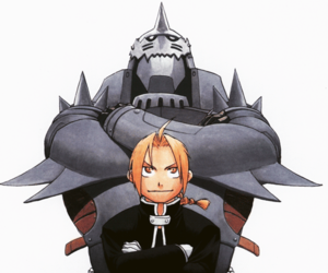 brothers, edward elric, and Brotherhood image
