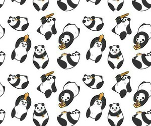 background, panda, and cool image