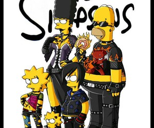 the simpsons, simpsons, and rock image