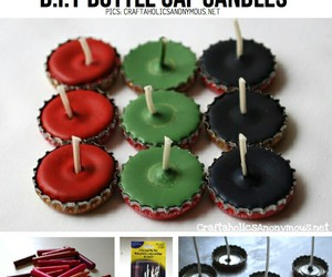 candle, diy, and cool image
