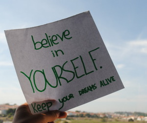 quote, text, and believe always image