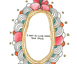 smile and text image