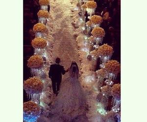 wedding, luxury, and love image