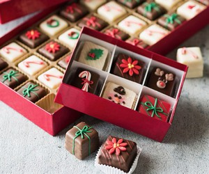 chocolate, christmas, and sweet image